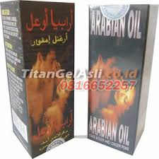 jual arabian oil minyak oles pembesar alat vital titan gel asli