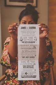 What To Write On A Wedding Invitation 21 Of The Most Creative Wedding Invitations Ever Brit Co