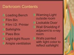 Loading Bench Darkroom And Film Processing Ppt Video Online Download