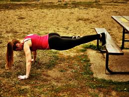 Workouts With A Bench Take Your Fitness Outside Park Workout Routine Active