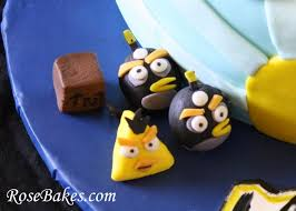 3 d angry birds birthday cake