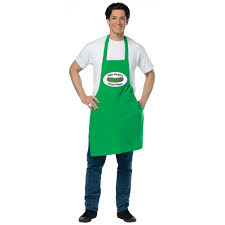 deli pickle man dirty apron apron costume
