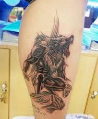 sweet sweet werewolf from dbar tattoos werewolf tattoos