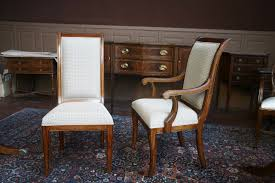 Fabric Chairs For Dining Room Upholstered Dining Room Chairs For Two Examples Matching Sets Of
