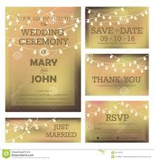 Marriage Wedding Invitation Cards Modern Wedding Invitation Card Stock Vector Image 65705504