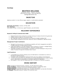Resume Sample Volunteer Coordinator by Sociology Resume Examples Resume For Your Job Application