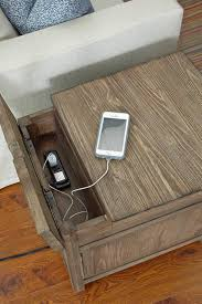 end table with outlet end tables with electrical outlets home ideas