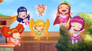 the winx club and the little fairies village winx club