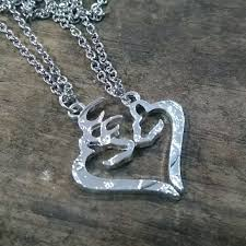 buck and doe couples necklace 60 other couples necklaces buck and doe from