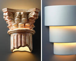Ceramic Outdoor Wall Sconces Justice Design Ceramic Collection Wall Sconces Indoor Or Outdoor