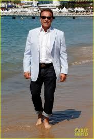 Arnold Schwarzenegger Halloween Costume Arnold Schwarzenegger Barefoot Beach Cannes