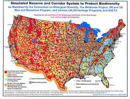 Border Map Of Usa by Agenda 21 Population Control Map For Usa Fellowship Of The Minds