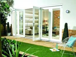 Folding Glass Patio Doors Prices by Wooden Folding Patio Doors Prices Wood Effect Aluminium Folding