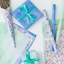 floral printed tissue paper wrap 50 70cm pastorale design flower printing wrapping tissue paper