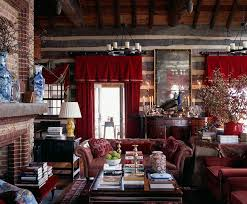 primitive bedroom decorating ideas single sofa red leather cushion