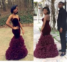 2016 prom new unique black prom sweetheart strapless maroon