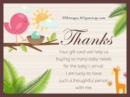 thank you notes for baby shower glamorous baby shower thank you note wording 42 on simple baby