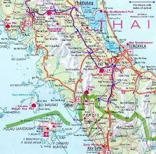 map of hat yai maps of hat yai