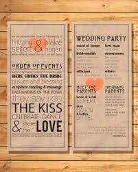 sle of wedding programs wedding ceremony bulletins more you will help your sle wedding