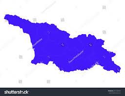 south ossetia map vector mapgeorgia south ossetia country on stock vector 441168457