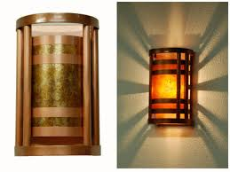 Copper Wall Sconce Lights Column Wall Sconce Wall Lighting