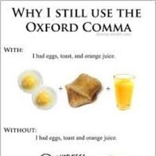 Oxford Comma Meme - why do i still use the oxford comma by sharol meme center