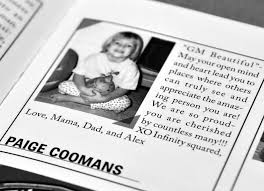 baby yearbook yearbook baby ads cedar ridge middle school