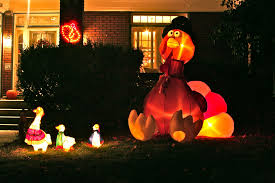 astonishing surprising outdoor thanksgiving deco presenting