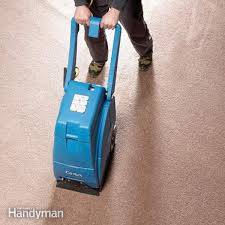 how to dry out basement carpeting family handyman