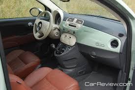 Fiat 500 Interior 2012 Fiat 500 Interior Tailored For U S Market Car Reviews And