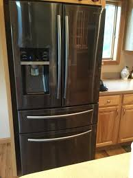will home depot lay away black friday appliance sale items samsung 33 in w 24 73 cu ft french door refrigerator in black