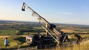 telescopic camera crane hire hydrascope telescopic crane and the