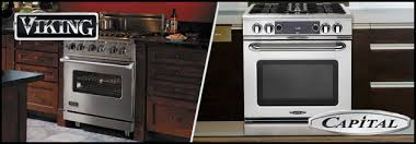 Capital Cooktops Viking Vs Capital Comparing 30 Inch Dual Fuel Ranges The