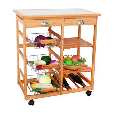 online buy wholesale wooden kitchen trolley from china wooden