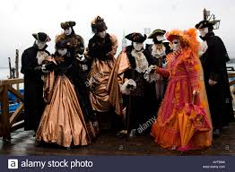 carnevale costumes black brown and orange costumes and masks carnevale di venezia