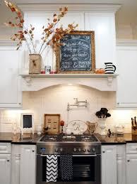 tableau noir pour cuisine decoration idées déco cuisine automne style rétro tableau noir