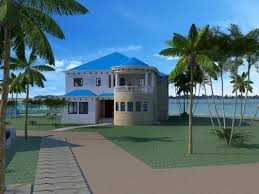 enclave lot blue house u2013 front view u2013 placencia belize real estate