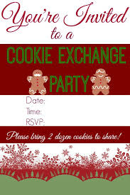 cookie exchange party u0026 dairy free punch an alli event