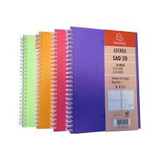 agenda sur bureau agenda exacompta sad 20w linicolor 210x150mm 1 semaine sur 2