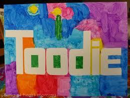 kid u0027s craft painter u0027s tape crayola paint name art young at