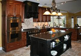 Kitchen Color Ideas With Cherry Cabinets Kitchen Cabinets Decorating Ideas Captainwalt Com