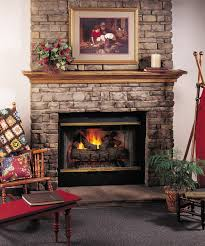 fireplace top notch living room and interior design with cream