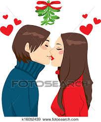 christmas mistletoe clip of christmas mistletoe k16052439 search clipart