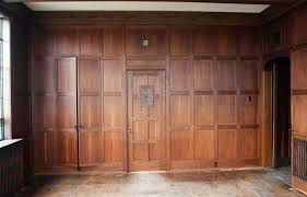 Paneling by 1905 Solid English Oak Paneled Room With Matching Door From Two