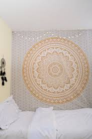 home decor tapestry amazon com original gold ombre twin size tapestry by rawyalcrafts