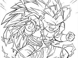 dragon ball coloring pages super saiyan 5 az coloring dbz goku