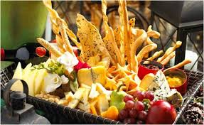wedding catering ideas take your wedding guests on a global adventure with food stations
