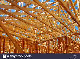 House Technology Wood House Skeleton New Building House Technology Traditional