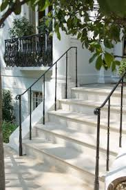 Handrail For Two Steps Radius Hand Railing On Ep Henry Paver Patio Exterior Hand