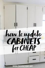 where can you get cheap cabinets update kitchen cabinets without replacing them by adding trim